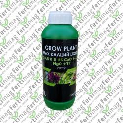 МАКС КАЛЦИЙ 10,5 0 0 15 CAO + 2,5 MGO + TE GROW PLANT 1л